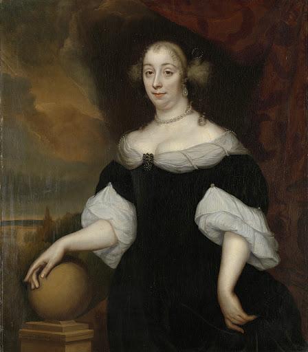 ヤコブス・トリップの二番目の妻、マルガレータ・ムンター(1639-1711)