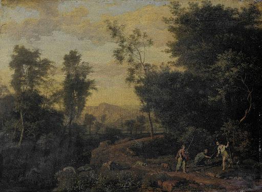 ダイアナが狩りをしている風景
