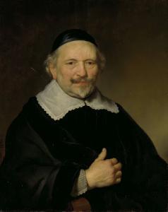 アウグスチン・ヴテンボガート(1577-1655)と思われる男の肖像