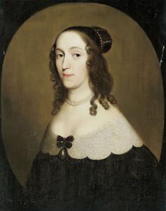 ソルムス・ブラウンフェルスの伯爵夫人、ルイーズ・クリスティーナ(1606-69)の肖像
