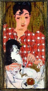 316px-pierre_bonnard_the_checkered_blouse-_portrait_of_mme_claude_terrasse_the_artists_sister