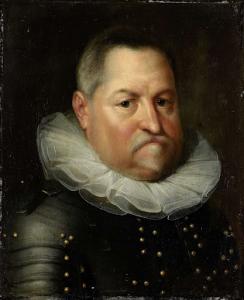 老人ジョンとして知られている、ナッサウのジョン伯爵の肖像