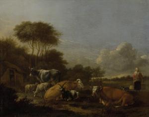牛がいる風景