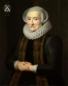 マルテン・リュイシャヴァーの妻、アリッド・ヴァン・デル・ラーンの肖像