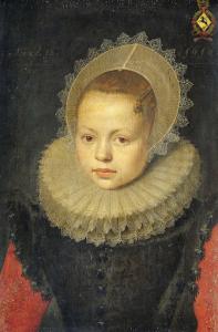 コルヴィナ・ヘーゼンブローク・ヴァン・ホフディークの肖像