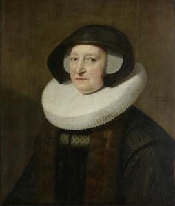 ヨハネス・ヴッテンボガート(ヤン・ヴッテンボガート)の二番目の妻、マリア・プティパスの肖像