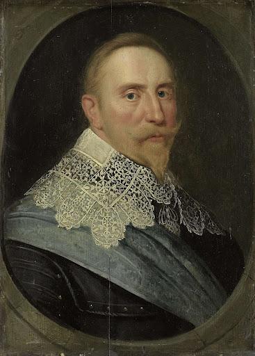 スウェーデン王、グスタフ2世・アドルフの肖像