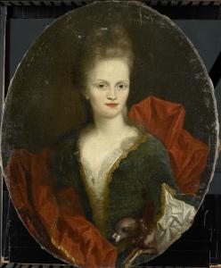 ヨハン・アーノルド・ツォウトマンの妻、アンナ・マルガレータ・ヴァン・ペットカム(1676-1745)