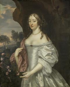 ハームステードのヤコブ・デ・ウィットの妻、ヤコバ・ヴァン・オーリエンスの肖像