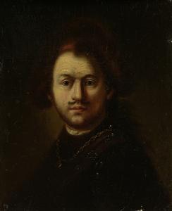 レンブラント・ハルメンス・ヴァン・リーンの肖像