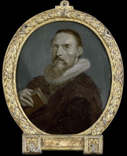 ハーレムの牧師、詩人、サミュエル・アンツィングの肖像