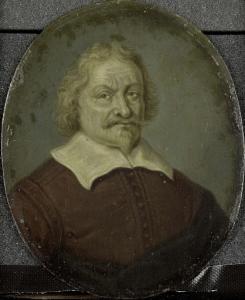 アムステルダムの新しい迷路の創設者、デーヴィッド・リンゲルバッハの肖像
