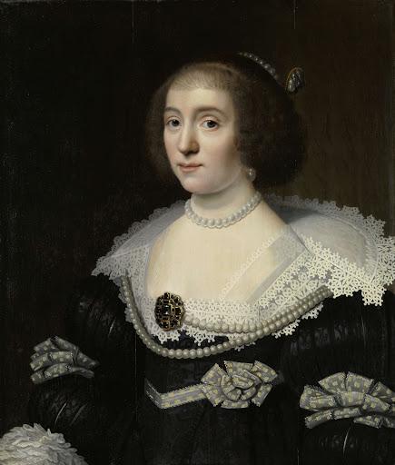 アマリア・ヴァン・ソルムス(1602-75)の肖像