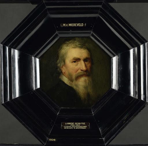 アムステルダムのメノー派の教師、ルバート・ゲリッツの肖像