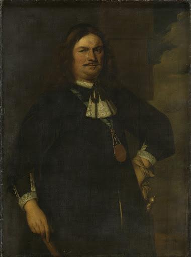 ジーランドの中将、アドリアーン・バンカート(1620-1684)
