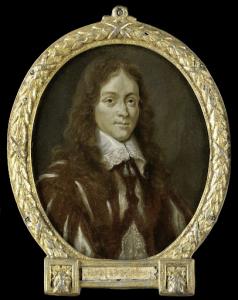 詩人、カスパー・ヴァン・キンショットの肖像