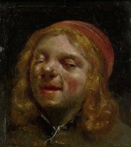 自画像、「ヤン・ファビュスの肖像」とも言われている