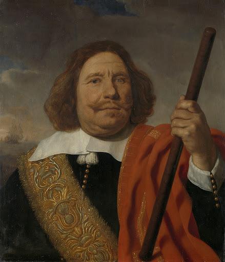 ロッテルダム、マースの海軍副司令官、エグベルト・ミュース・コートナー(1605-65)
