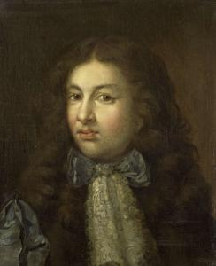 作者の長男、テオドール・ネッチャー(1661-1728)の肖像