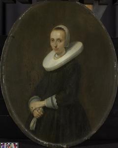 ゲラルド・ヴァン・デル・シャルケの妻、ヨハンナ・バルドール(1667以降没)