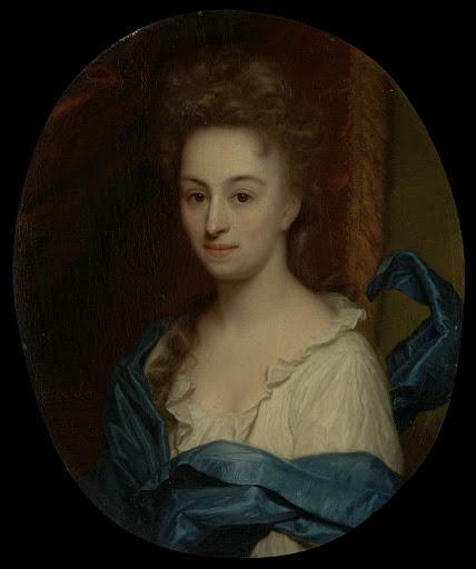 ジョシーナ・パーデュインの娘、ジョシーナ・クララ・ヴァン・シター(1671-1753)の肖像