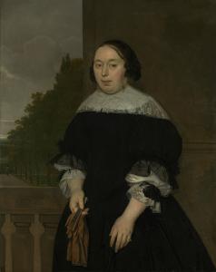 ヤン・ヴァン・ネスの妻、アレッタ・ヴァン・ラヴェンスベルグ(1635-77)