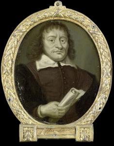 詩人、ホールンのラテンスクールの校長、ヘンドリック・ブルーノの肖像