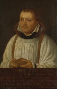ユトレヒトの聖ジェームス教会の牧師、ヒュイベルト・デュイヒュイ(1515-81)の肖像