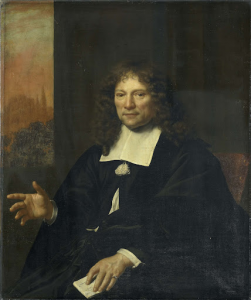オランダアルミニア派の長老、アルクマールの模範役人、ダニエル・ニーリウス