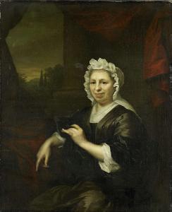 ハーメン・ヴァン・デ・ポールの未亡人、ブレシェ・ホーフト(1640-1721)