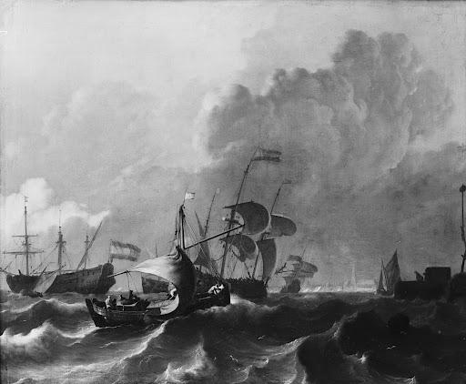 アムステルダム沖の湾