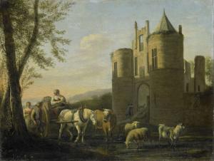 エグモンド城へのメインゲート