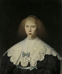フレデリック・ディルクス・アレウィンの最初の妻、アガサ・ゲールヴィンク(1617-38)
