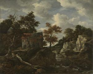 岩場の風景