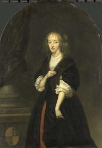ピーター・デ・グラフの妻、ヤコバ・ビッカー(1640-95)の肖像