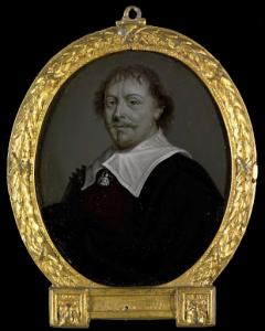 ブラジルのジーヴェンベルゲンの聖職者、フランシスカス・プランテの肖像