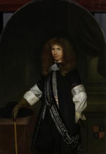 ヤコブ・デ・グラーフ(1642-90)、将校の制服を着ている