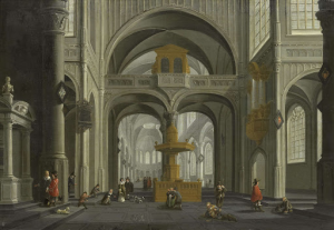 教会の内部装飾