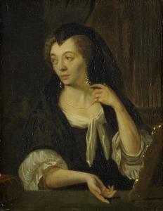 アンナ・デ・ホーゲ(1645-1717)、画家の4人目の妻