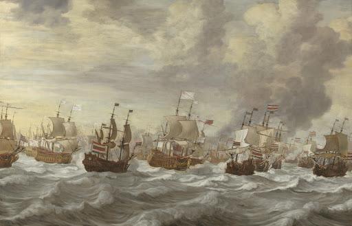 四日間の海戦(1666年6月11-14日)からのエピソード