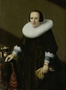フィリップス・デニスの妻、ゲートライド・リールの肖像