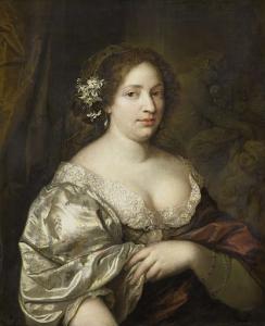 作者の妻、マルガレータ・ゴディン(1694没)の肖像
