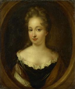 アーノート・ヴァン・シッターズとジョシーナ・パルデュインの娘、アンナ・ヴァン・シッターズ(1664-94)