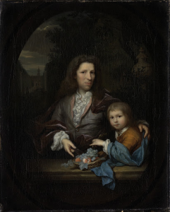 ヤン・ヴァン・デ・ポル(1668-1745)と息子ハーメン・ヘンドリック(1697-1772)