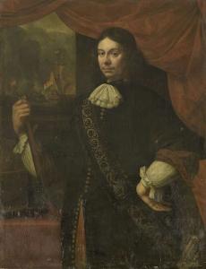 海軍大尉、コーネリス・ヤコブス・デ・ボアーの肖像