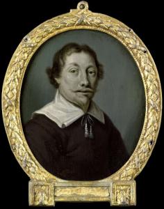 デーフェンテルの薬剤師および詩人のヤン・ファン・デル・フィエンの肖像
