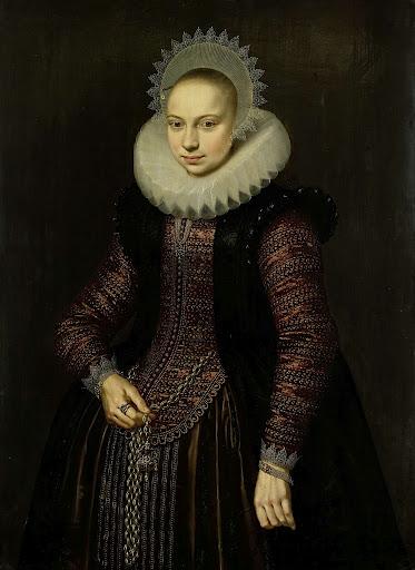 ブレヒテ・オーバレイン・ファン・スクワテールボッシュの肖像