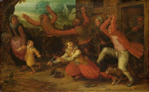 農民の喜び(追放)