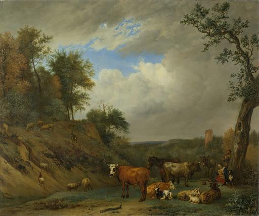 牧夫と畜牛
