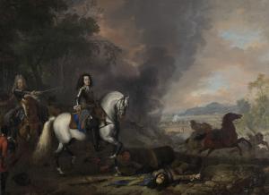 戦場のナッサウ=ディーツ侯、ヘンドリック・カシミール2世